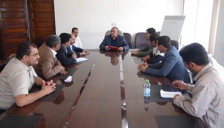 الوكيل علي السقاف يبحث مجالات التعاون بين الهيئة العامة للزكاة والجهاز المركزي للإحصاء اليمني
